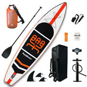11and039 Inflatable Stand Up Paddle Board Surfboard Sup Paddelboard With Complete Kit