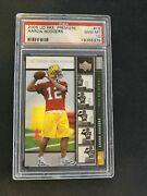 2005 Upper Deck Rookie Premiere Football 16 Aaron Rodgers Rc Psa 10 Packers