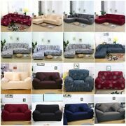 1-4 Seater Stretch Chair Sofa Covers Couch Cover Elastic Slipcover Protector