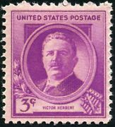 Usa 1940 3 For 1 Sale 🤩 Famous American - Victor Herbert/composer - Sc. 881