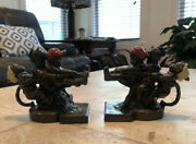Antique K And O Tug Of War Bookends
