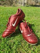 Soccer Shoes Nike Total Iii 90 Red.very Good Condition. Us10, Eur44, 28cm