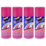 Performix Plasti Dip Muscle Car 11302 Panther Pink Rubber Spray 4 Pack