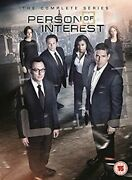 Person Of Interest Seasons 1 To 5 - The Complete Collection Dvd [uk] New Dvd
