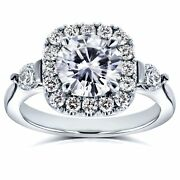 Annello By Kobelli 14k White Gold 1 2/5ct Tcw Forever One
