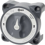 Blue Sea 11003 Hd-series Battery Switch With Alternator Field Disconnect -