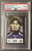 2004 Uk Traditions Soccer World Stars Lionel Messi Rookie Rc Psa 9 Mint