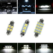 28pcs Car Interior Led Light For Dome Licenses Plate Lamp Auto Accessories Kits