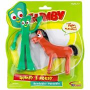 Nj Croce Gumby And Pokey Bendable Figure Pair