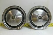 Used Oem Ford 2 15 Ford Motor Company Hubcaps D6uz1130a 1976-91 Van2919