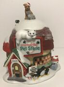 Dept 56 North Pole Series Christmas Critters Pet Store Polar Bear Dog Penguin