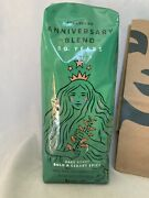 New 50th Anniversary Starbucks Coffee Blend 16oz Whole Beans Sealed In Hand