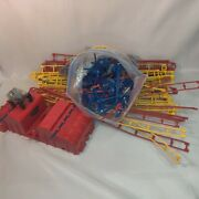 Knex Roller Coaster Parts Lot With Motor And Car