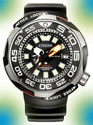 Citizen Bn7020-09e Can Withstand The Harsh Environment Of 1000m Under The Sea.