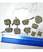 1/6 Hot Toys Platoon Action Figure Accessory Many Pouches