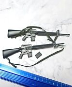1/6 Hot Toys Platoon Action Figure Accessory Two Long Guns