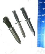 1/6 Hot Toys Platoon Action Figure Accessory Knifes