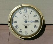 John Liley And Sons North Shields Coventry Smith Astral Nautical Ships Sea Clock