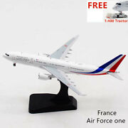 1400 Aviation400 France Air Force One A330mrtt F-rarf Free Tractor+stand