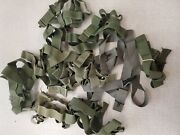 Mix Brand Military Trouser Suspenders Lot Of 10 Cd287