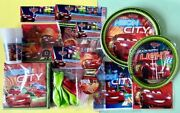 Disney Pixar Cars Neon City Partyware. Items Start From £2.99