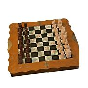 Asian Travel Chess Set Vintage Chess Board And Pieces Board Games