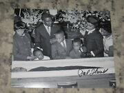 Jack Thornell Signed 8x10 Photo Martin Luther King Jr Funeral Autograph