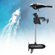 Hangkai 45lbs Thrust Electric Outboard Trolling Motor Boat Motor For Salt Water