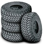 4 New Toyo Open Country M/t Lt 245/75r16 120/116p E 10 Ply Mt Mud Tires