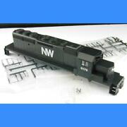 Norfolk And Western Sd40-2 Pin Type Complete Shell Assembly Athearn Blue Box Ho