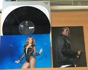 Jay-zbeyoncebonnie And Clyde200212 Vinyl Ex+ Genuine Hand Signed Photoscoa