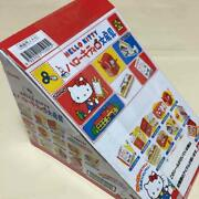 Re-ment Sanrio Hello Kitty Stationary Complete Set Miniature Rare From Japan