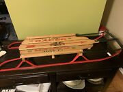 New Vintage Flexible Flyer Snow Sled Classic Racer 48 Winter Fun