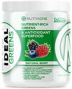Ideal Greens By Nutraone - Antioxidant And Nutrient-rich Superfood Greens Powder