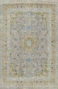 Vintage Floral Ardakan Hand-knotted Area Rug Traditional Oriental Carpet 10and039x13and039