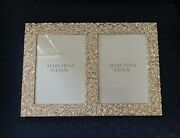 Lenox Marchesa Rose Double Invitation Photo Picture Frame 5×7 1st Quality Nwt