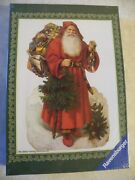 Factory Sealed Vintage Ravensburger 500 Piece Puzzle Father Christmas Free Ship
