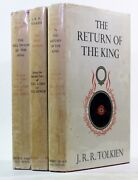 Old Vintage Lord Of The Rings Lotr J R R Tolkien First Edition 14th 11th 11th