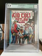 Kid Colt Outlaw Album 1 Strato Publishing, 1950 Cgc Off-white Pages.