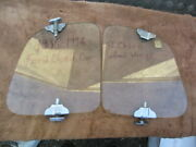 1935-1936 Casco Wind Wings For Ford Closed Cars
