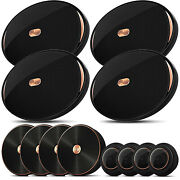 4x Infinity Kappa-90csx 6x9 405w Component Speakers With Switchable Crossover