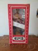 Young Elvis Mccormick Whiskey Decanter Bottle Music Box Yours 1955 With Box