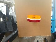 706140 Dominion Lamp Red/yellow Lens 2 Wireandnbsp Plactic
