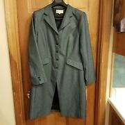 Darlings Of The West Womenandrsquos Black Western Frock Coat Size 14 Sass Cowboy