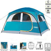 Summer Travel Family 6 Person Outdoor Camping Tent Cabin Dome Cabana Shelter Bbq