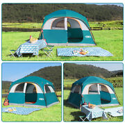 6 Person Portable Rainy Outdoor Camping Hiking Tent Cabana Shelter Cabin Tents
