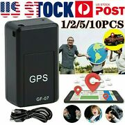 Mini Gps Gprs Upgrade Tracker Real-time Magnetic Locator Car Tracking Device Lot