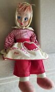 Vintage 1950and039s 28 Tall I Love Lucy Desi Rag Doll Character Doll Corp.