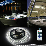 Waterproof Wireless 5m White Led Strip For Boat For Yacht Deck Interior Lighting