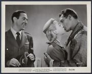 Jerry Paris Leigh Snowden And Jock Mahoney Kissing I've Lived Before Orig Photo